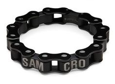 """Sons of Anarchy Stainless Steel """"SAMCRO"""" Motor Chain Bracelet"""