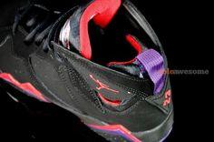 Air Jordan Retro 7 (VII) GS Playoffs aka Raptors Detailed Look on http://www.kixandthecity.com/air-jordan-retro-7-vii-gs-playoffs-aka-raptors-detailed-look/