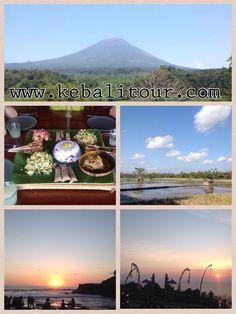 Mount Agung great volcanoe in Bali 3124 meter. Was Eruption on 18 February, 1963