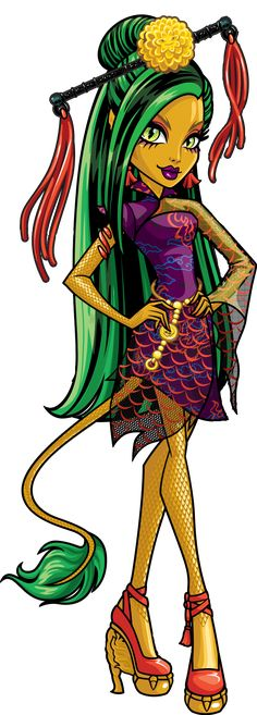 Jinafire Long - Monster High Wiki