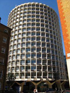 Richard Seifert, London, One Kemble Street - Space House