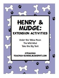 $3 - Henry and Mudge Extension Activities
