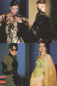 """Thierry Mugler Spring 1997 Haute Couture """"Les Insectes"""""""