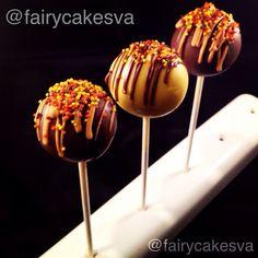 Fall/Thanksgiving Themed Cake Pops Dozen by FairyCakesVA on Etsy Snack Recipes, Cooking Recipes, Snacks, Fall Cake Pops, No Bake Truffles, Turkey Cake, Homemade Lasagna, Fall Cakes, Truffle Recipe