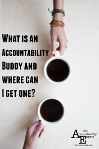 What is an accountability buddy and where can I get one? #writing