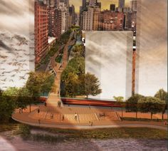 First Place Reimagining the Waterfront Ideas Competition / Joseph Wood - New Jersey, USA
