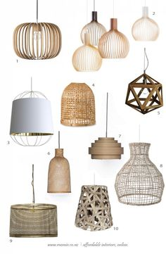 Roomie Light / Open Structure Pendants