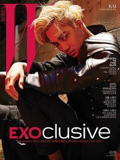 "PLANET #EXO on Twitter: ""[PIC] EXO for W Korea July Issue - KAI https://t.co/3jpymsFzED"""