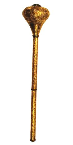 """Maça de batalha Indo/Persa """"Turcomana"""", medindo ao todo cerca de 58.5cm"""