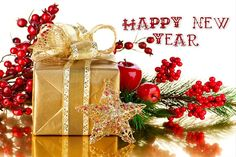 Happy New Year wallpaper 2018 and happy New Year images 2018 Happy New Year Gift, Happy New Year 2015, Happy New Year Images, New Year Wishes, New Year Gifts, Year 2016, Holiday Cards, Christmas Cards, Christmas Decorations