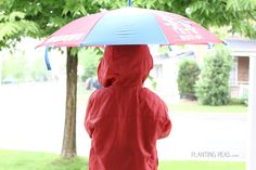 A very Montessori Practical Life activity for the rainy season! Come check out a video of how my 3 year old uses an umbrella.