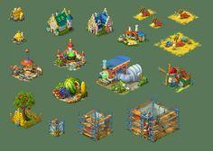 Fantasy Buildings 01 by roma-n.deviantart.com on @deviantART