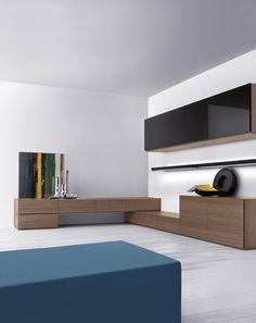 sistema modulare | librerie | modello spazio moduli | pianca ... - Mobili Living Design