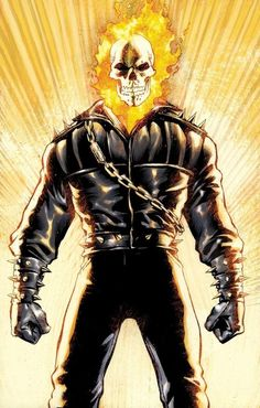 Ghost Rider - Just watched the movie last night and loved him all over again <3