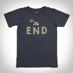 The End Shirt : Clothing : Ace Hotel Online Shop - Neeed ♥ - Shop is all you Neeed !