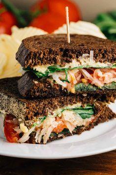 Veggie Reuben Sandwiches #vegan glutenfree | Veggie Chick