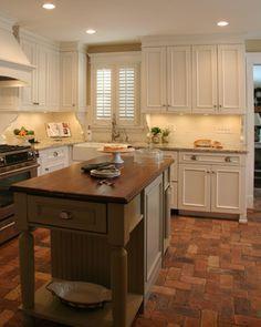 Cottage Kitchen In Elburn   Craftsman   Kitchen   Chicago   Advance Design  Studio, Ltd · Paver PatternsBrick ...