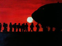 "Artwork: ""Hope & Fear"" by Steve Beales Semper Fi, Military, Artwork, Movie Posters, Work Of Art, Auguste Rodin Artwork, Film Poster, Artworks, Billboard"