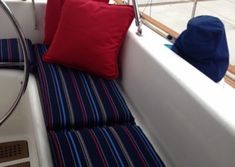 View Our Best Boat Bedding Package Examples & Fabric Choices Boat Bed, Duvet, Bedding, Best Boats, Bed Mattress, Choices, Cushions, Couch, Throw Pillows