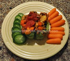 Southwest Stuffed Bell Peppers suitable for PINK Method reset