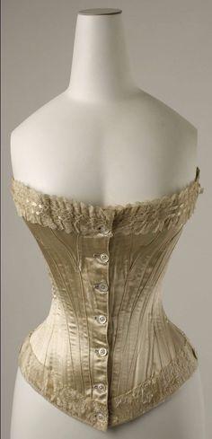 Vintage Corset, Vintage Underwear, Victorian Corset, Vintage Lingerie, Vintage Dresses, Vintage Outfits, 1890s Fashion, Victorian Fashion, Vintage Fashion
