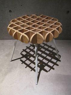 川添純一郎建築設計事務所 の 椅子 waffle chair