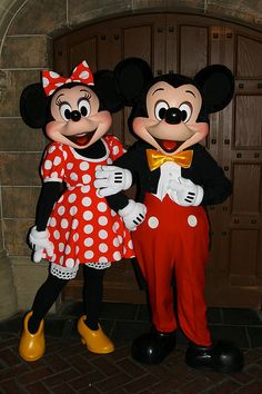 Mickey & Minnie Mouse ❤ them!