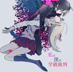 DanganRonpa V3:Killing Harmony - Shuichi Saihara and Kaede Akamatsu