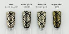 ZigiZtyle: Gold stamping