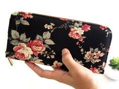 Hey, I found this really awesome Etsy listing at https://www.etsy.com/listing/202865520/vegan-womens-wallet-fabric-wallet