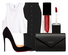 Dirty princess. by lucieednie on Polyvore featuring polyvore fashion style H&M Jonathan Simkhai Christian Louboutin Balenciaga clothing
