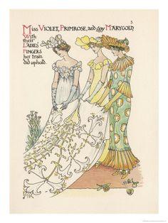 Walter Crane - A Flower Wedding -  no.05