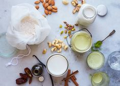 Using one basic recipe, you can make any kind of nut milk. - Amy Chaplin