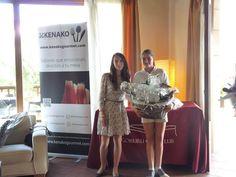 Entrega de premios Kenako Gourmet: 1 premio- lote productos delicatessen #golf #goiburu #premios #ganadores