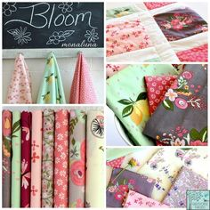 Monaluna House Designer - Bloom Fabric Collection