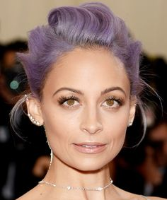 See 15 Celebs Who've Rocked the Pastel Hair Color Trend - Nicole Richie - from InStyle.com