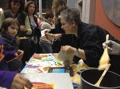 Demo at MAH Book Arts night