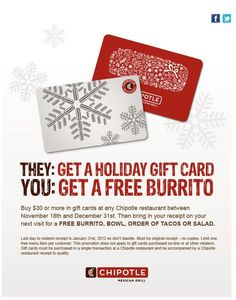 free burritos at chipotle valentine's day