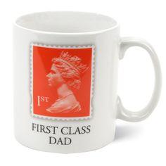First Class Dad Porcelain Mug