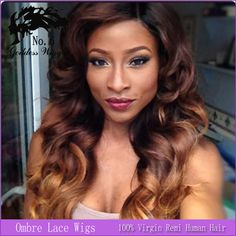 14 24 Inch Brazilian Wavy Ombre Lace Wig Human Lace Front Wig/Glueless Full Lace Human Hair Wigs/U Part Wigs For Black Women-in Wigs from Beauty & Health on Aliexpress.com | Alibaba Group