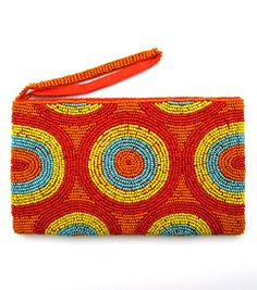 Aspiga Beaded Purse Clutch Bag