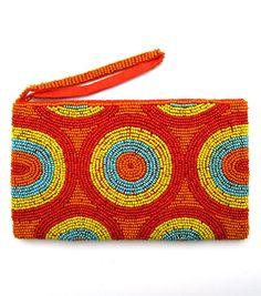 Aspiga Beaded Purse Clutch Bag