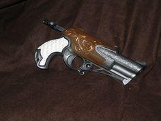 Nerf Rebel Intrepide Hand Guns, Nerf, Rebel, Pistols, Revolver