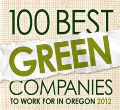 Oregon Business Magazine Best #Green Companies