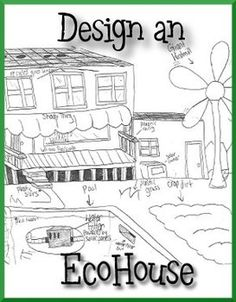 Great for Earth Day or as an end of the year project!In this problem-based learning activity, students will demonstrate knowledge and understanding of renewable energy sources by designing their own EcoHouse. Students are provided with an invitation to become citizens of Energize City, which requires that they design a home with some requirements related to energy efficiency and alternative energy.