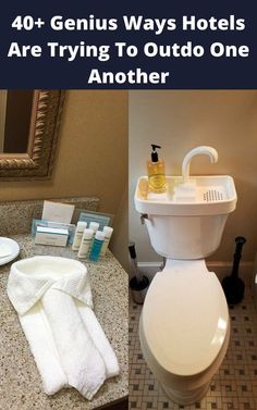 Let's look at some of the best and most ingenious solutions at different hotels
