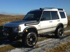 """Land Rover discovery Td5 chipped 5"""" lifted 285x75x16 wheels and tyres"""