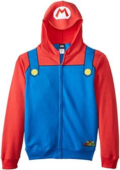 Nintendo Mario Adult Costume Zip Up Hoodie (Adult X-Small... https://www.amazon.com/dp/B00N2080RA/ref=cm_sw_r_pi_dp_x_gkL9xb6WGBM0X