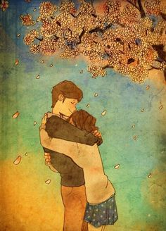 """Love is in Small Things: Artist """"Puuung"""" captures those little moments that make love whole in these heartwarming illustrations. Ah, o Amor, sempre o Amor. Art And Illustration, Illustration Mignonne, Illustrations, Couple Drawings, Art Drawings, Fantasy Sketch, Puuung Love Is, Art Amour, Art Couple"""