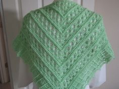 Ravelry: Project Gallery for Falling Water Shawl pattern by Lion Brand Yarn